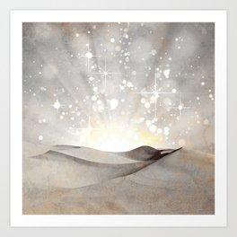 MAGIC DESERT Art Print