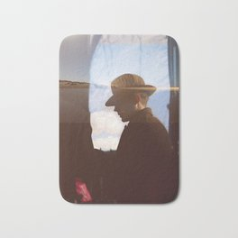 Man with hat Bath Mat