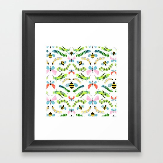 Caterpillars Framed Art Print