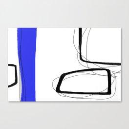 Blocks-Blue Streak  Canvas Print