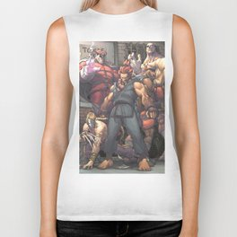 Street Fighter - Villains Biker Tank