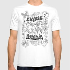 Imagine the Impossibilities White MEDIUM Mens Fitted Tee