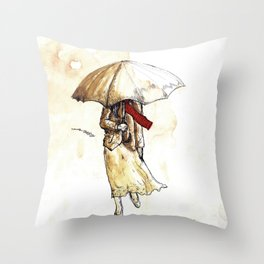 Outono Throw Pillow