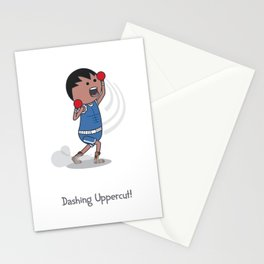 Dashing Uppercut Stationery Cards