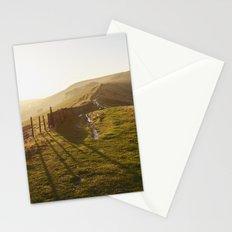 Rushup Edge at sunset. Derbyshire, UK. Stationery Cards