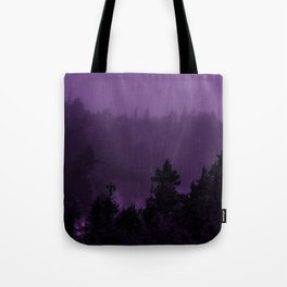 Purple Fog Tote Bag