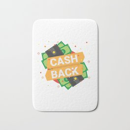 Cash Back Bath Mat