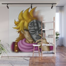 Dio Mask Wall Mural