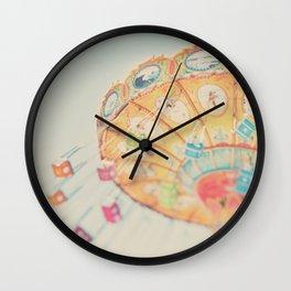 carnival swing II ... Wall Clock