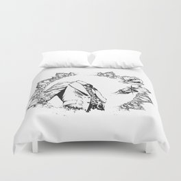The Headless Bruce - MiguelRC Duvet Cover