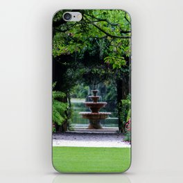 Focal Point In The Garden iPhone Skin