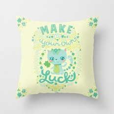 lucky 13 Throw Pillow