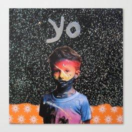 yo Canvas Print
