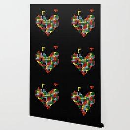 Tetris Love Wallpaper