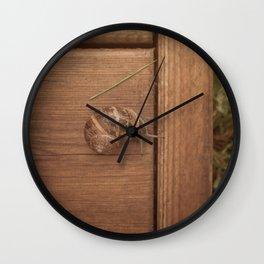 Snail Garden Wall Clock