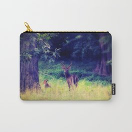 Morning in the Meadow Carry-All Pouch