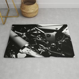 Kawasaki Ninja Motorcycle Wall Art V Rug
