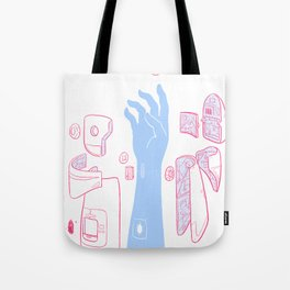 Android Arm Tote Bag