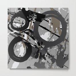 Enso Groove C by Kathy Morton Stanion Metal Print