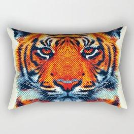 Tiger - Colorful Animals Rectangular Pillow