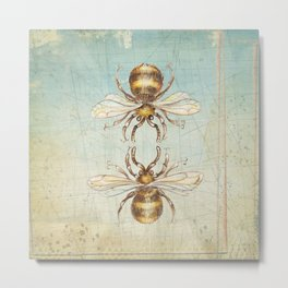BEEs Metal Print