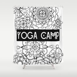 Yoga Camp Minneapolis Shower Curtain