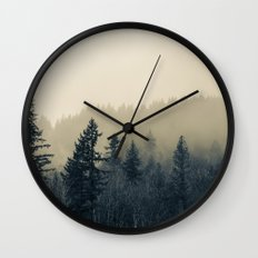 Mists of Noon Wall Clock