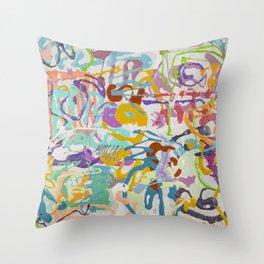 Shamanic Painting 09 Throw Pillow