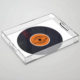 Vinyl Record Art & Design | World Post Acrylic Tray
