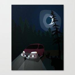 Super Exceed Camper Canvas Print