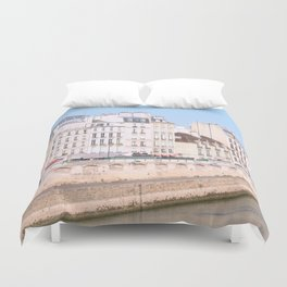Bright Paris Duvet Cover
