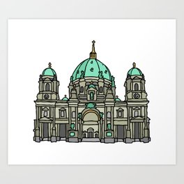 Berlin Cathedral Art Print
