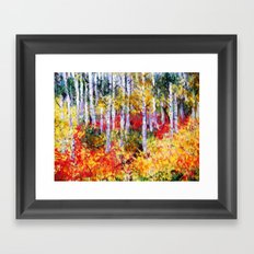 Title: Glorious Autumn Colors  Framed Art Print