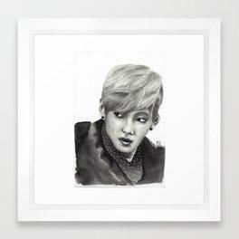 Kim Taehyung Framed Art Print