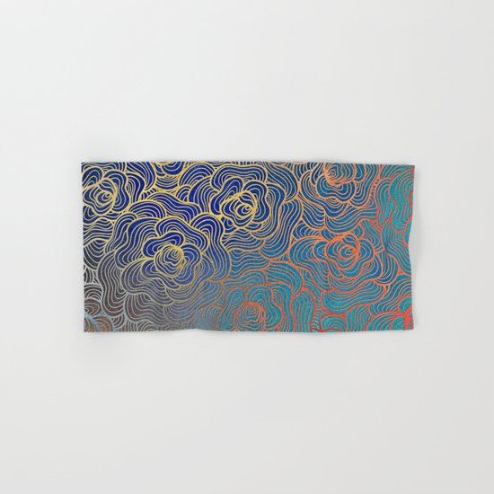 Abstract Roses Hand & Bath Towel