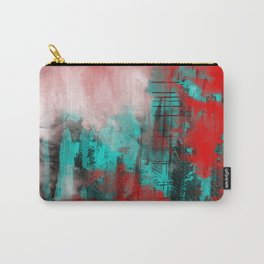 Intense Red And Blue Carry-All Pouch