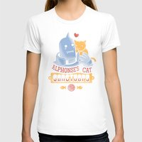 fullmetal T-shirts featuring Alphonse's Cat Sanctuary by adho1982