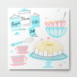 Sugar And Spice And Everything Nice Metal Print