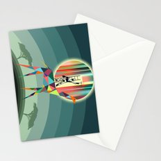 When everybody falls asleep  Stationery Cards