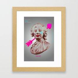 Pop-Revolution Courtier Framed Art Print
