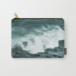 Wild waves crashing Carry-All Pouch