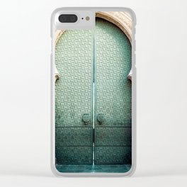 Door of Cathedral Mezquita of Cordoba, Andalucia Clear iPhone Case