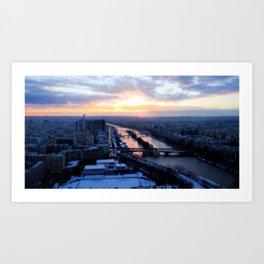 Pick a bridge Art Print