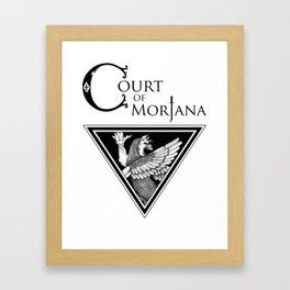 Court Of Morjana, The Art of Iraqi Dance -  Logo Framed Art Print