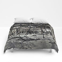 Abandon Battery Factory Comforters
