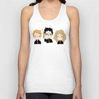 potter Tank Tops featuring Happy Potter by Keasy
