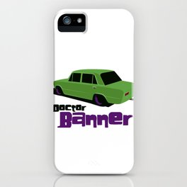 Doctor Banner iPhone Case