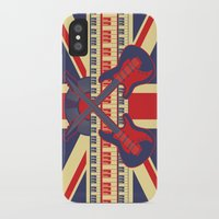 british iPhone & iPod Cases featuring British Rock by Ornaart