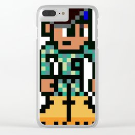 The soldier Clear iPhone Case