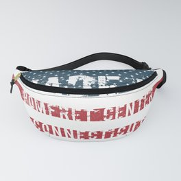 Made in Pomfret Center, Connecticut Fanny Pack